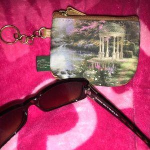 ❤️ Thomas Kinkade Bag & Dana Buchman Sunglasses